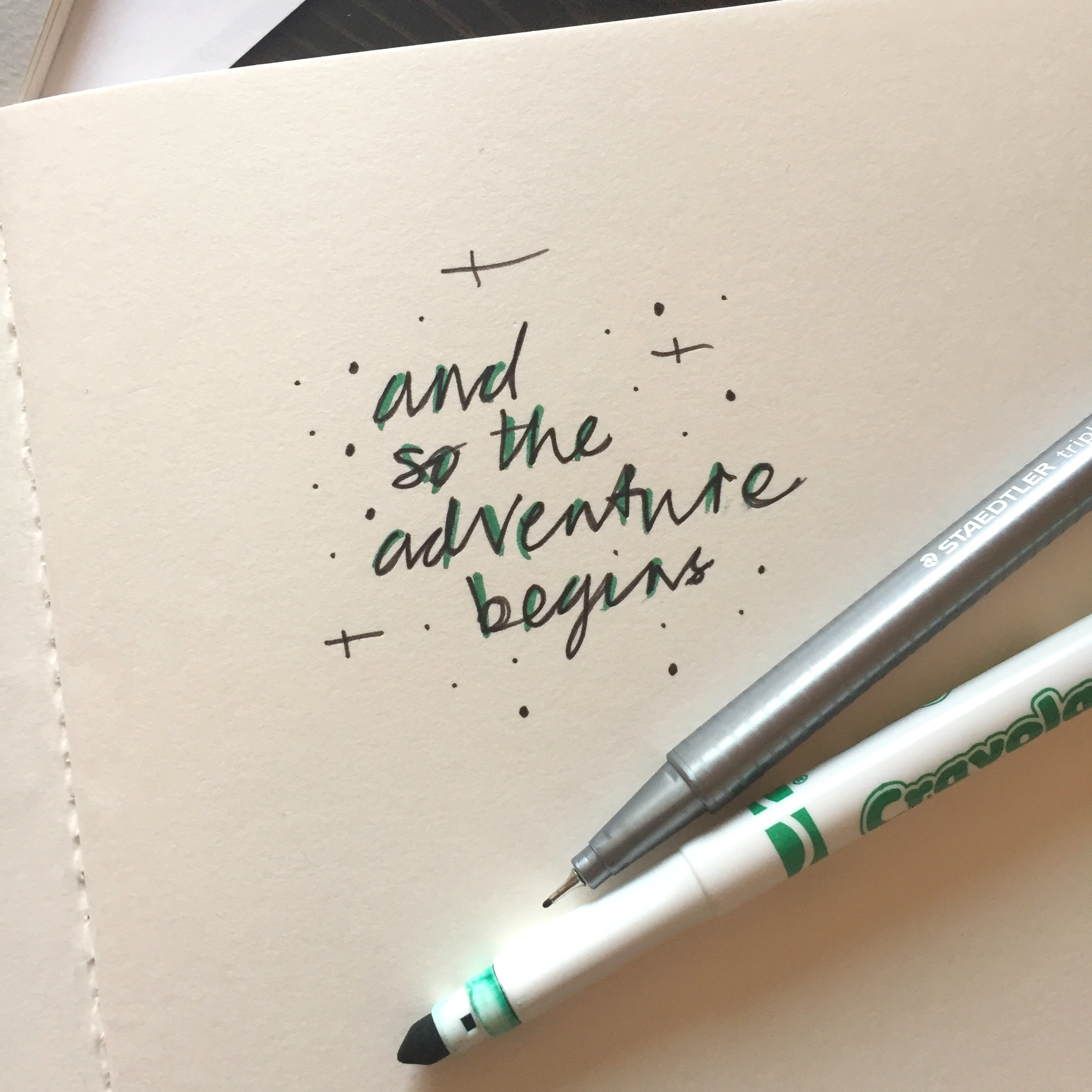 Handwriting and esp doodling help you to unlock your creativity